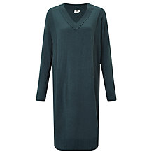 Buy Kin by John Lewis Reverse Seam Dress, Teal Online at johnlewis.com