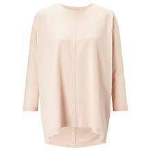 Buy Kin by John Lewis Oversized Long Sleeve T-Shirt, Pink Online at johnlewis.com