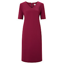 Buy Kin by John Lewis Lace Insert Dress, Red Online at johnlewis.com