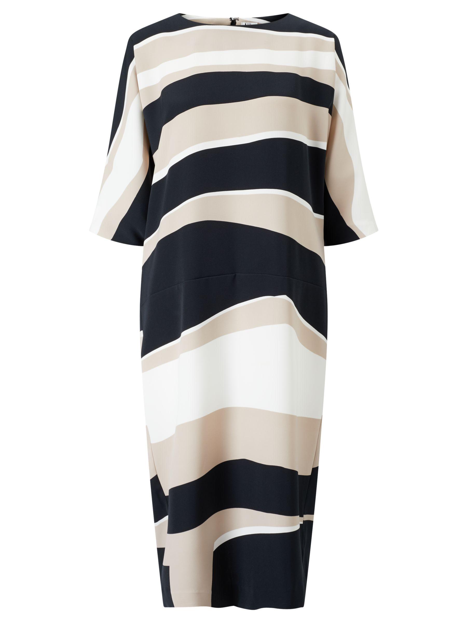 Kin by John Lewis Kin by John Lewis Stripe Batwing Dress, Multi
