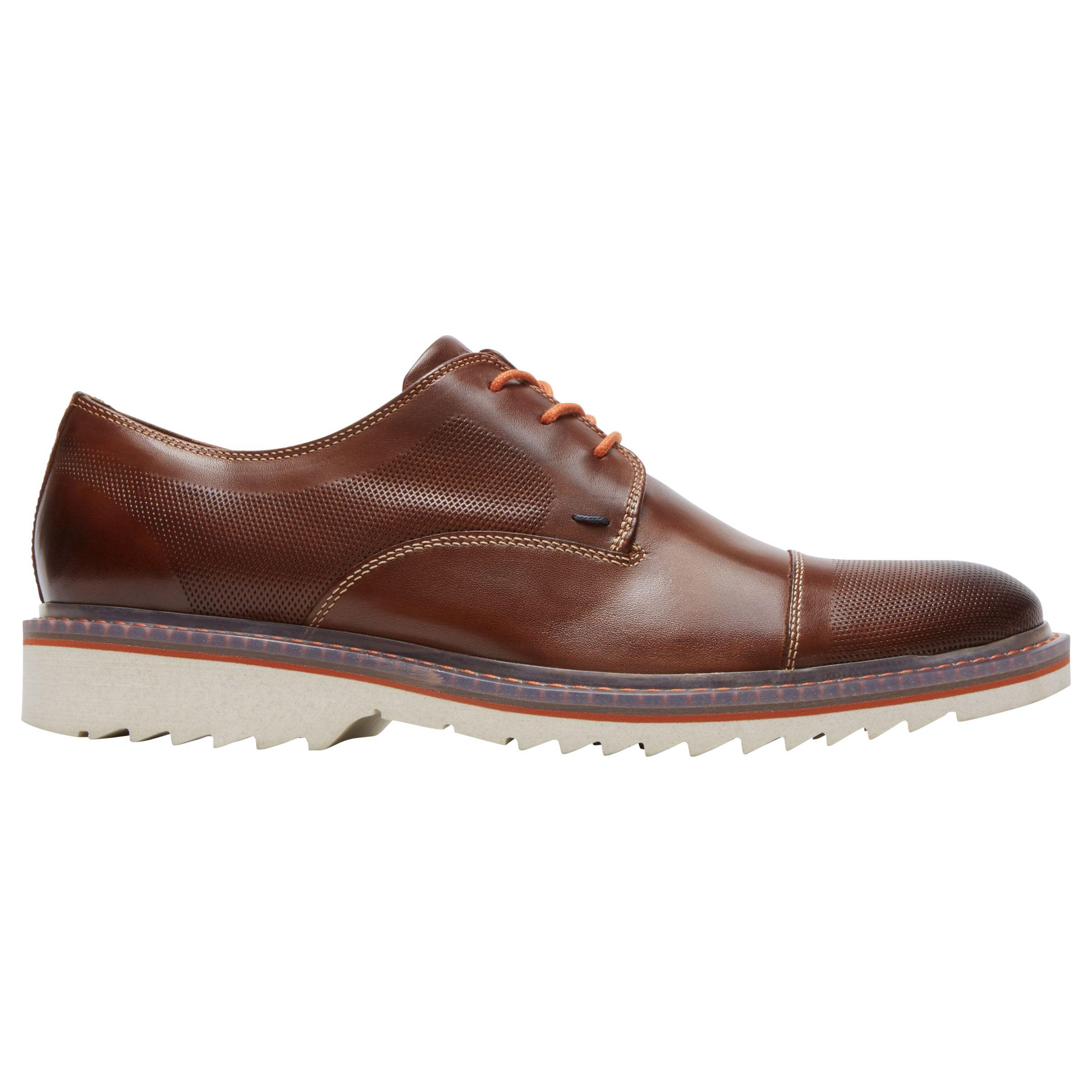Rockport Rockport Jaxson Cap Toe Derby Shoes, Brow