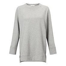 Buy Varley Manning Sweatshirt, Grey Online at johnlewis.com