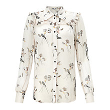 Buy Baum und Pferdgarten Madonna Printed Shirt, Blackbirds Online at johnlewis.com