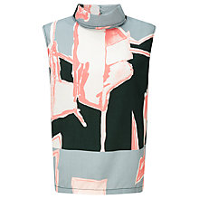 Buy Waven Eleni Funnel Neck Top, Multi Online at johnlewis.com