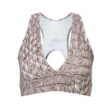 Buy Varley Brooks Crop Top, Maris Snake Online at johnlewis.com