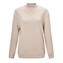 Buy Varley Rochester Sweatshirt, Blush Pink Online at johnlewis.com