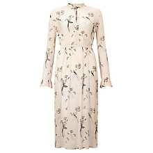 Buy Baum und Pferdgarten Aicha Printed Dress, Blackbirds Online at johnlewis.com