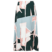 Buy Waven Lilli Printed Skirt, Broken Line Print Online at johnlewis.com