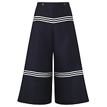 Buy Baum und Pferdgarten Nayoko Stripe Culottes, Night Sky Online at johnlewis.com