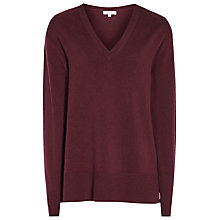Buy Reiss Selma V Neck Jumper Online at johnlewis.com