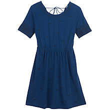 Buy Fat Face Sara Embroidered Dress Online at johnlewis.com