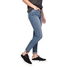 Buy Miss Selfridge Lizzie Light Wash Jeans, Denim Online at johnlewis.com