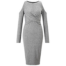Buy Miss Selfridge Twist Midi Dress Online at johnlewis.com