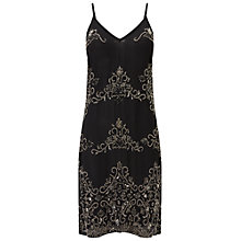 Buy Miss Selfridge Embellished Cami Dress, Black Online at johnlewis.com