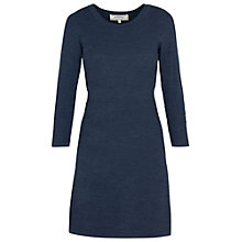 Buy Fat Face Emma Dress, Navy Online at johnlewis.com