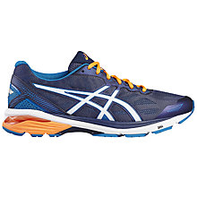 Buy Asics GT-1000 5 Men's Running Shoes, Blue/White Online at johnlewis.com