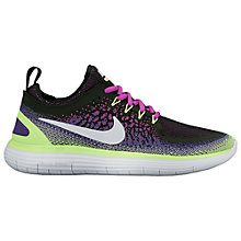 Buy Nike Free RN Distance 2 Women's Running Shoes, Hyper Violet/Dark Iris Online at johnlewis.com