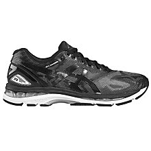Buy Asics Gel Nimbus 19 Men's Running Shoes, Black Online at johnlewis.com