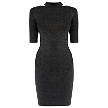 Buy Warehouse Split Neck Dress Online at johnlewis.com