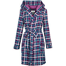 Buy Fat Face Upavon Dressing Gown, Fig Online at johnlewis.com