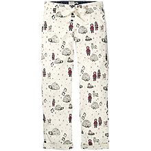 Buy Fat Face Eskimo And Igloo Pyjama Bottoms, Ivory Online at johnlewis.com