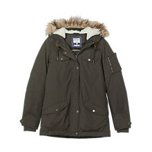 Buy Fat Face Walney Warm and Dry Jacket, Khaki Online at johnlewis.com