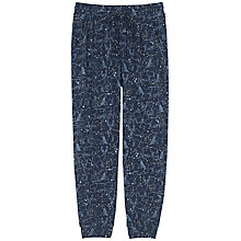 Buy Fat Face Constellation Cuffed Pyjama Bottoms, Navy Online at johnlewis.com