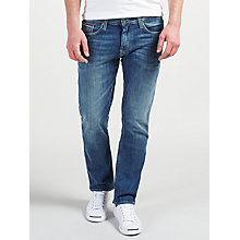 Buy Tommy Hilfger Original Straight Ryan Jeans, Lake Light Stretch Online at johnlewis.com