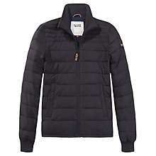 Buy Tommy Hilfiger Quilted Jacket, Tommy Black Online at johnlewis.com