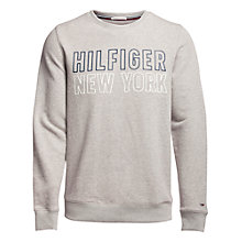 Buy Tommy Hilfiger Basic Crew Sweatshirt Online at johnlewis.com