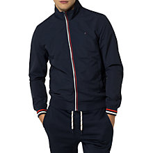 Buy Tommy Hilfiger Bobby Casual Bomber Jacket, Black Iris Online at johnlewis.com