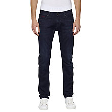 Buy Hilfiger Denim Scanton Slim Jeans, Dynamic Worn Rinse Stretch Online at johnlewis.com