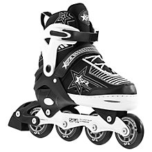Buy SFR Pulsar Adjustable Inline Roller Skates, Black/White Online at johnlewis.com
