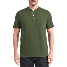 Buy John Lewis Short Sleeve Henley T-Shirt Online at johnlewis.com