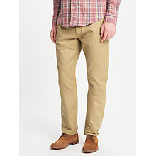 Buy JOHN LEWIS & Co. Japanese Selvedge Chino Trousers, Stone Online at johnlewis.com