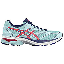 Buy Asics GEL-PULSE 8 Women's Running Shoes, Blue/Pink Online at johnlewis.com