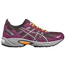 Buy Asics GEL-VENTURE 5 Women's Running Shoes, Purple/Black Online at johnlewis.com