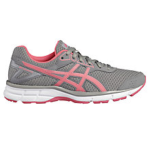 Buy Asics GEL-GALAXY 9 Women's Running Shoes, Grey/Pink Online at johnlewis.com