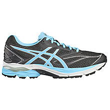 Buy Asics GEL-PULSE 8 Women's Running Shoes, Black/Blue Online at johnlewis.com