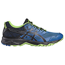 Buy Asics Gel-Sonoma 3 Men's Trail Running Shoes, Blue/Black Online at johnlewis.com