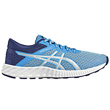 Buy Asics fuzeX Lyte Women's Running Shoes, Blue/Silver Online at johnlewis.com