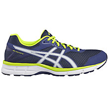 Buy Asics GEL-GALAXY 9 Men's Running Shoes, Blue/White Online at johnlewis.com
