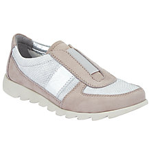 Buy John Lewis Designed for Comfort Efia Slip On Trainers, Natural Online at johnlewis.com