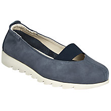 Buy John Lewis Designed for Comfort Halia Pumps, Navy Online at johnlewis.com