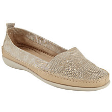 Buy John Lewis Designed for Comfort Wren Slip On Loafers, Natural Online at johnlewis.com