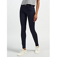 Buy Calvin Klein Mid Rise Skinny Jeans, Wonder Dark Online at johnlewis.com