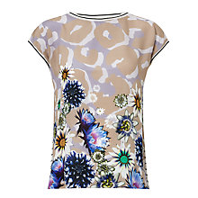 Buy Marc Cain Floral Print Top, Multi Online at johnlewis.com