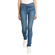 Buy Polo Ralph Lauren High Rise Skinny Jeans, Medium Indigo Online at johnlewis.com