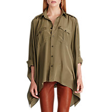 Buy Polo Ralph Lauren Loose Fit Silk Shirt Online at johnlewis.com