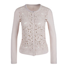 Buy Marc Cain Lace Front Cardigan, Shell Online at johnlewis.com
